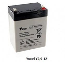 Batterie YUASA gel 12V 2,9Ah