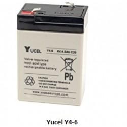 Batterie YUASA gel 6V 4Ah